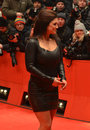 BERLIN - FEB 15: Gina Carano arrives for the scree Stock Images