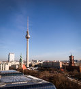 Berlin Fernsehturm Stock Photography