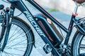 Fischer bike, detail Royalty Free Stock Photo