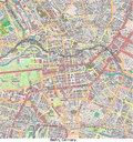 Berlin germany europe hi res aerial view of the city of in Stock Photos
