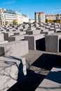 Berlin, Holocaust monument Stock Images