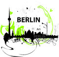 Berlin illustration Stock Photos