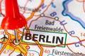 Berlin on a map