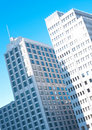 Berlin, modern office buildings Royalty Free Stock Photos