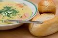 Berlin potato soup Royalty Free Stock Photo