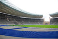 Berlin s olympia stadium germany may the current olympiastadion was originally built for the summer olympics in the Royalty Free Stock Images