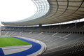 Berlin s olympia stadium germany may the current olympiastadion was originally built for the summer olympics in the Royalty Free Stock Photography