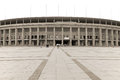 Berlin s olympia stadium germany may the current olympiastadion was originally built for the summer olympics in the Stock Photography