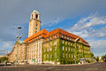 Berlin-Spandau Town Hall (Rathaus Spandau), Germany Royalty Free Stock Photo