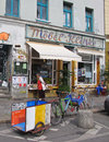 Berlin street scene in kreuzberg Royalty Free Stock Photography