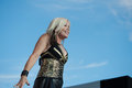 Berlin with terri nunn lincoln ca – august performs in support of the regeneration tour at thunder valley casino resort in Royalty Free Stock Images