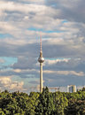 Berlin tower germany tv and radio Stock Image