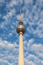 Berlin TV tower Stock Image