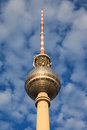 Berlin TV tower Stock Photography