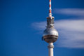 Berlin tv tower the famous of Stock Photo