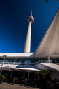 Berlin tv tower the famous of Royalty Free Stock Photos