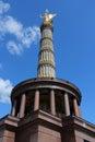 Berlin Victory Column Royalty Free Stock Photo