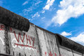 The Berlin Wall Stock Images