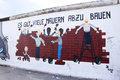 Berlin wall art Stock Images