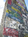 Berlin Wall Fragment Royalty Free Stock Photo