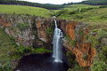 Berlin waterfall south africa blyde river mpumalanga drakensberg Royalty Free Stock Image