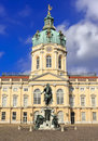 Berlincharlottenburg palace famous tourist destination in berlin germany schloss charlottenburg beliebtes ausflugsziel in berl Royalty Free Stock Image