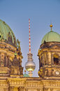 Berliner dom berlin cathedral in berlin germany is a temple of the evangelical church Royalty Free Stock Photo