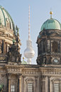Berliner dom berlin cathedral in berlin germany is a temple of the evangelical church Stock Photo