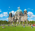 Berliner dom a photo of the one of the largest churches in berlin germany Stock Photography