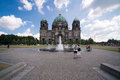 Berliner dom in the summer of berlin germany jul berlin on july this is most important church berlin visited by many tourists Royalty Free Stock Photography