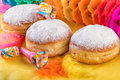 Berliner Traditional German Sweet Donuts Doughnuts Royalty Free Stock Photo