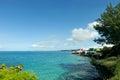 Bermuda Coast Line Royalty Free Stock Photo