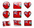 The Bermuda Islands flag Royalty Free Stock Image