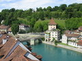 Bern, the capital of Switzerland Royalty Free Stock Photos