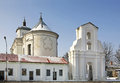 Bernardine church of the immaculate conception in slonim belarus Royalty Free Stock Image
