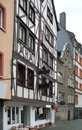 Bernkastel kues historic houses in the old town of in germany Stock Image