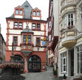 Bernkastel kues town hall in the historic old town of in germany Royalty Free Stock Image