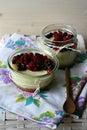 Berries Cheesecake Royalty Free Stock Photo