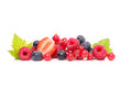 Collage berries strawberries blueberries berry fruits isolated o