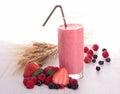 Berries milkshake Royalty Free Stock Photo