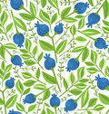 Berries seamless pattern Royalty Free Stock Photography