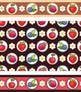 Berry  background Stock Image