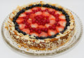 Berry cheese cake Stock Photography