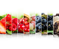 Berry mix Royalty Free Stock Photo