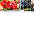 Berry mix Royalty Free Stock Photo