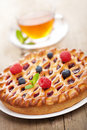 Berry pie Royalty Free Stock Photo