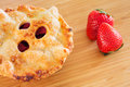 Berry pie delicious freshly baked gourmet Royalty Free Stock Photo