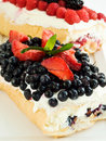 Berry Roll Stock Photography
