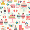 Berry sweets pattern