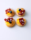 Berry Tarts Stock Photography